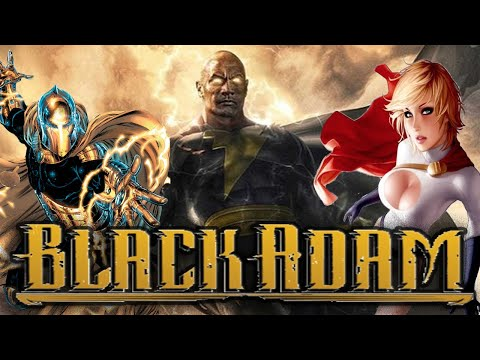 BLACK ADAM Movie With The JUSTICE SOCIETY Of AMERICA, Power Girl, Dr Fate And More! News Breakdown!