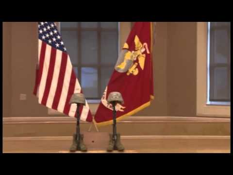 Marines pay tribute to fallen brothers