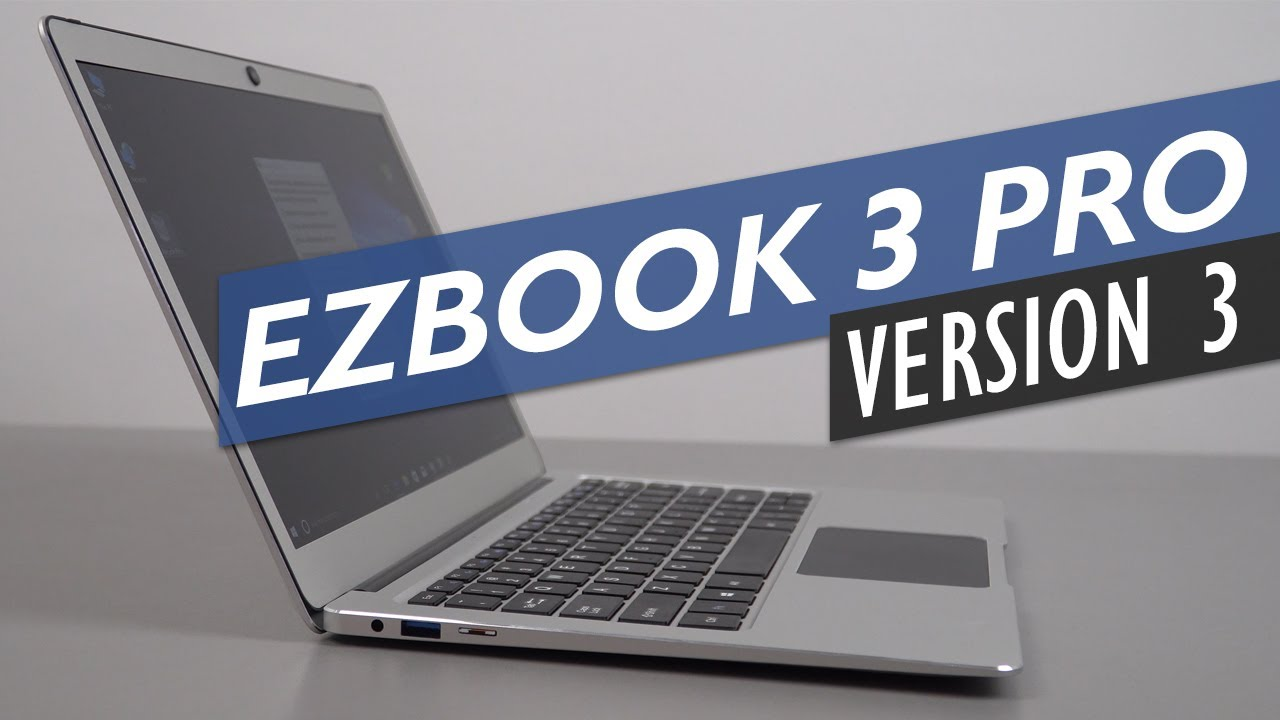 Jumper Ezbook 3 Pro Version 3 Wireless Ac Upgrade Hands On Youtube