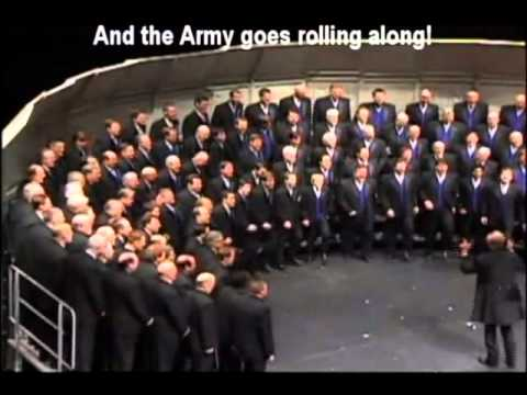 The Vocal Majority - Armed Forces Medley + accompaniment and karaoke