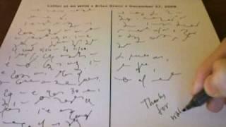 Handywrite Shorthand Dictation at 40 WPM