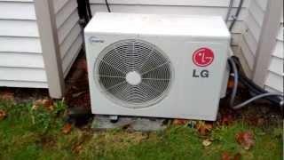 external unit for lg ductless heat pump