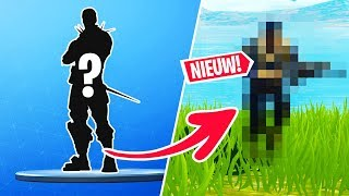 This SKIN has NO ONE in the Netherlands! -Fortnite English