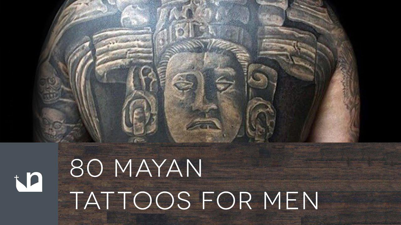 80 Mayan Tattoos For Men