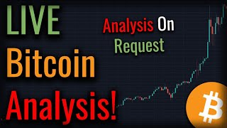 Bitcoin Dropping Fast - Where's The Bottom? Live Bitcoin Technical Analysis