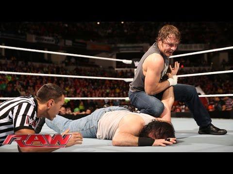 Dean Ambrose vs. Luke Harper – Intercontinental Championship Match: Raw, November 24, 2014