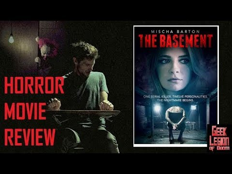 THE BASEMENT ( 2018 Mischa Barton ) Serial Killer Torture Horror Movie Review