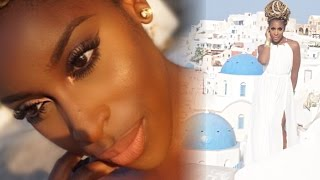 GRWM My Birthday in Santorini! | Jackie Aina