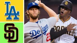 Los Angeles Dodgers vs San Diego Padres Highlights April 17, 2021 - | MLB Season 2021