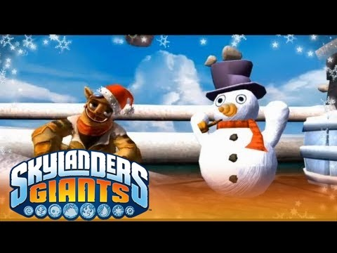 "Music Video: ""It's Christmas 4 Bad Guyz 2!""l Skylanders Giants l Skylanders"