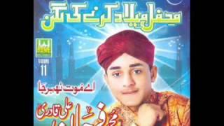farhan ali qadri 2011 new album ,shan rab nain hazoor di wadi hoi aay.wmv