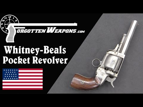 Whitney-Beals Walking Beam Pocket Revolver