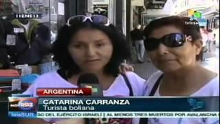 Turistas extranjeros prefieren Argentina para vacacionar