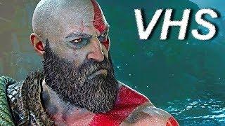 God of War (трейлер) - отец и сын - русский и ламповый - VHSник