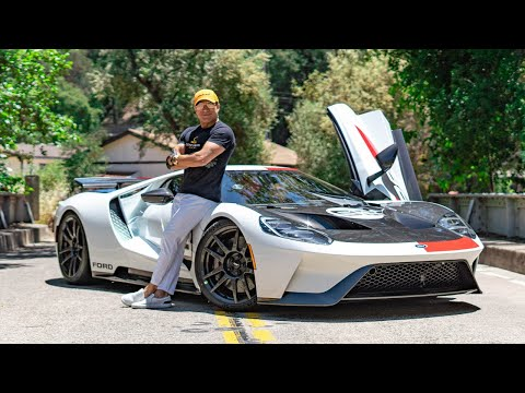 TAKING MY HERITAGE FORD GT THROUGH THE CANYONS! || Manny Khoshbin
