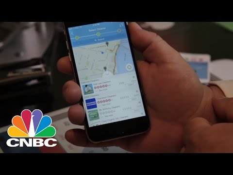 On Demand Laundry With 'Triggr' | CNBC