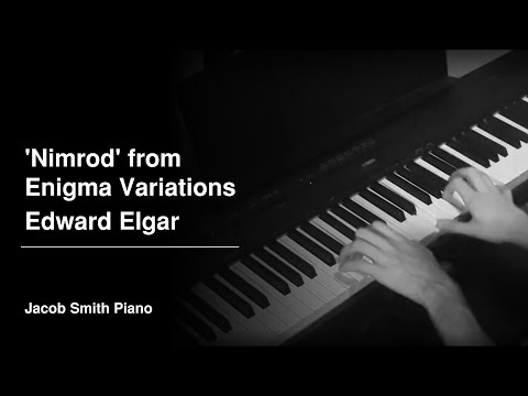 'Nimrod' from Enigma Variations - Edward Elgar (Piano Cover)