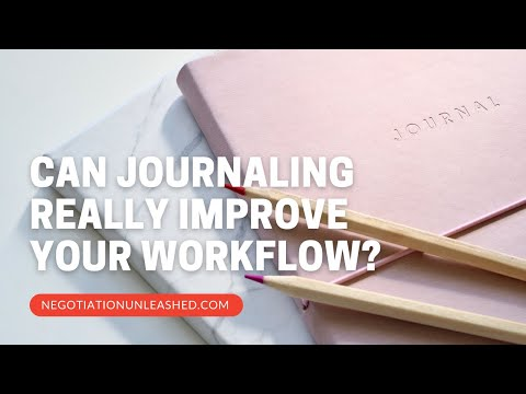 Can Journaling Really Improve Your Workflow?