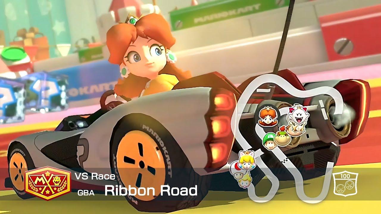 Mario Kart 8 Deluxe Daisy Ribbon Road #74
