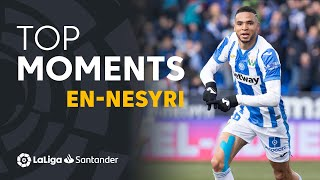 TOP Moments Youssef En-Nesyri LaLiga Santander 2018/2019