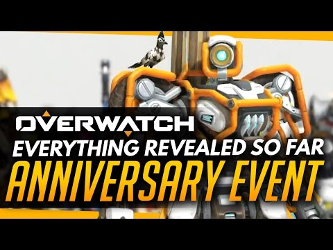 Overwatch | EVERYTHING Revealed So Far! - Anniversary Event (New Skins, Emotes, Maps and Gamemode?)