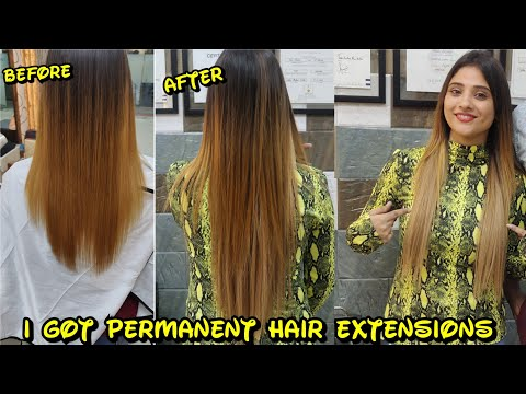 I got permanent Hair extensions || shystyles