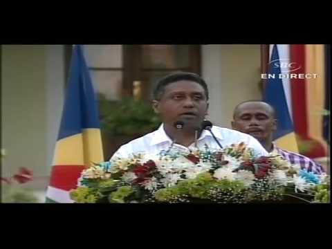 Inauguration Ceremony   New President of Seychelles   16 October 2016 x264