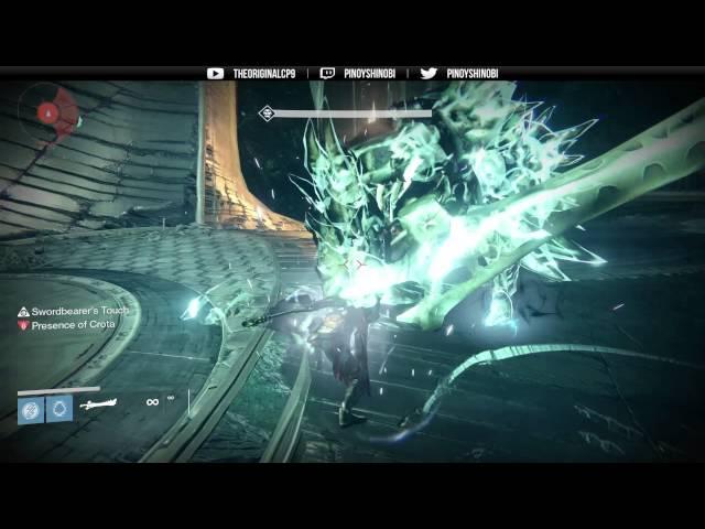 Tutorial: How to Beat Crota (Hard Mode) Sword Holder Perspective