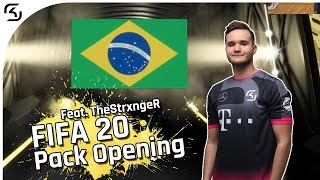 FIFA 20 PACK OPENING feat. TheStrxngeR EPISODE 1 | SK FIFA 20