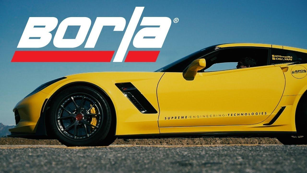 borla exhaust for the 2015 2019 c7 corvette z06 exhaust system sounds