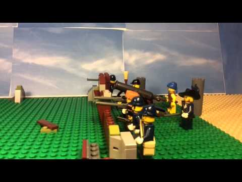 Lego battle of New Orleans war of 1812
