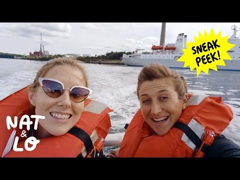 Thumbnail: Nat and Lo: Underwater Internet Cables Sneak Peek