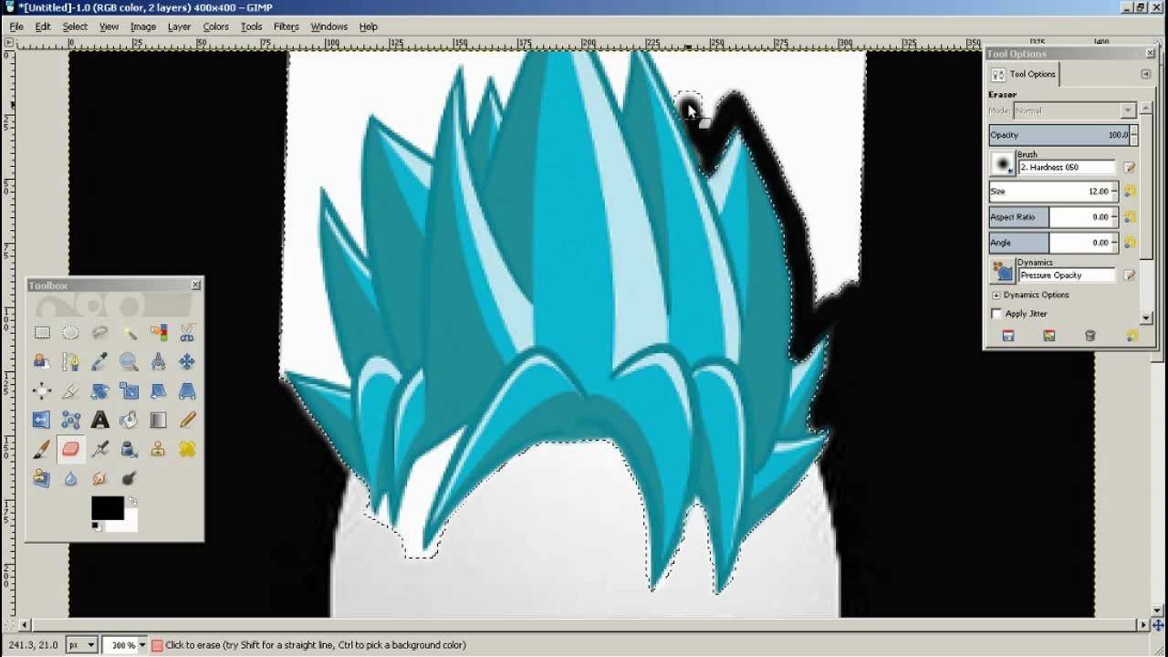 Manycam effect super saiyan hair - Blue Super Saiyan Hair On Egg Photoshop With Cataleya