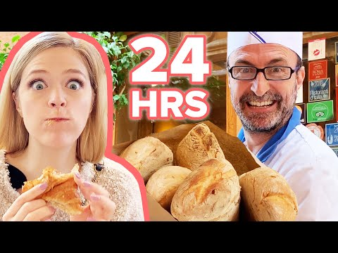 Letting Italians Decide What I Eat In Italy For 24 Hours Challenge | Kelsey Impicciche