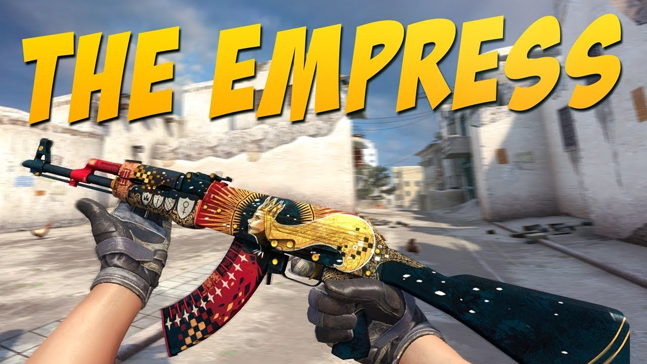 Cs Go Ak 47 The Empress Gameplay Youtube
