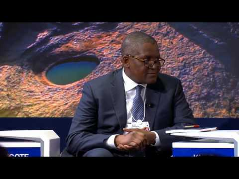 Powering Africa On World Economic Forum Annual Meeting 2017