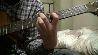 説明 昨日you tubeでライブ演奏のギターの指ガン見してなんとかコードさ...