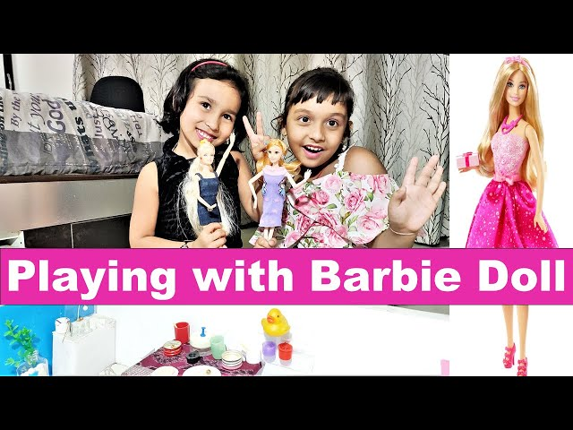 Barbie doll game in Hindi | Morning to Night Routine | Gudiya ki video | Doll game| #LearnWithPari