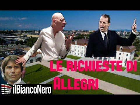"""JUVE/ALLEGRI, CHIRICO :""""ECCO TUTTE LE RICHIESTE DI MAX"""""""