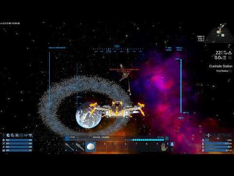 Empyrion - Battle With Zirax Tovera Class Dreadnought