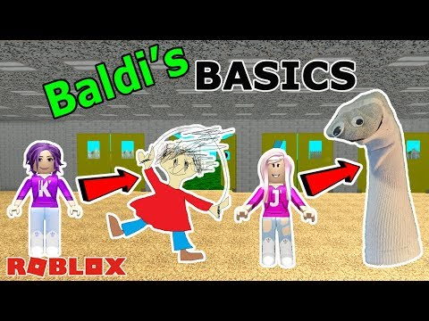 BECOMING PLAYTIME & ARTS AND CRAFTERS! / Roblox: Baldi's Basics (Successful Escape!)