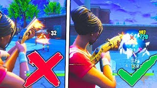 HOW TO DO MORE DAMAGE FORTNITE AFTER PATCH! HOW TO GET BETTER AT FORTNITE PRO SHOTGUN TIPS!