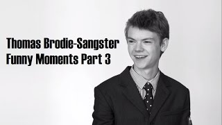 Thomas Brodie-Sangster Funny Moments Part 3