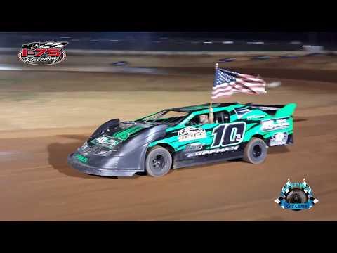 #10 Brannon Knight - Pony - 7-22-17 I-75 Raceway - In Car Camera