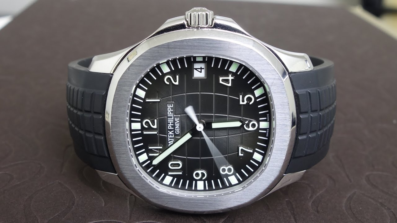 patek philippe aquanaut 5167a 001 youtube