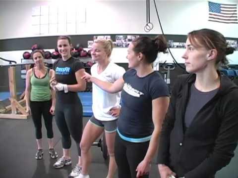 CrossFit WOD 101120 Demo with the women of Santa Cruz