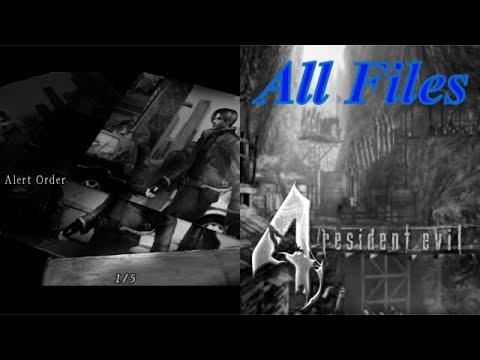 Resident Evil 4 (PS4) - All Files Alphabetized