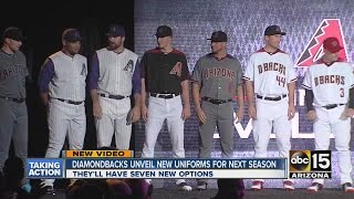 Arizona Diamondbacks unveil 2016 jerseys