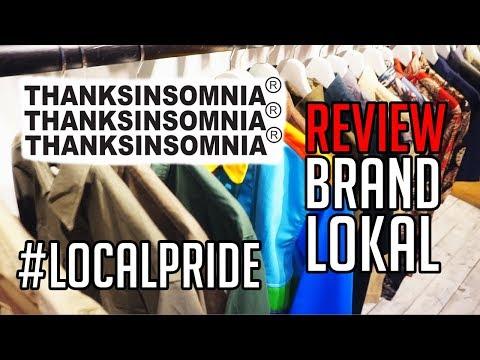 #LocalPride  Review Brand Lokal Thanksinsomnia  Tebet, Jakarta Selatan
