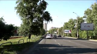Moscow Summer 2014 Lefortovo tunnel; Ostankino TV tower; Massive road reconstruction.